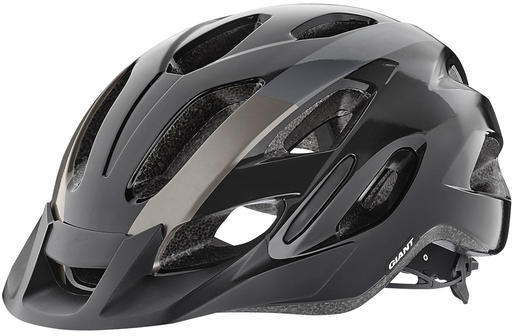 Giant Compel Helmet Color: Black/Metallic