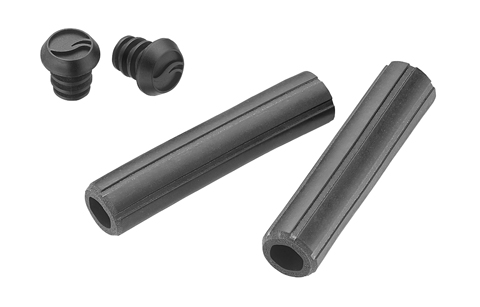 Giant Contact Silicone Grips Color: Black