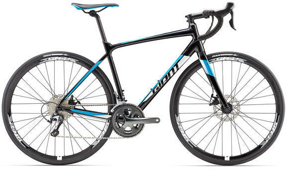 Giant Contend SL 2 Disc Color: Black/Blue/White