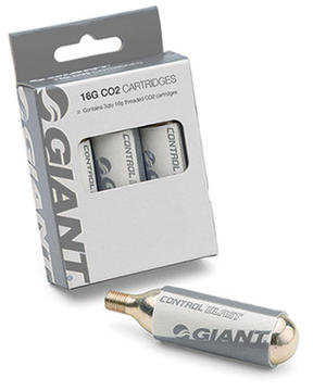 Giant Control Blast 16-gram Threaded CO2 Cartridges (3-Pack)