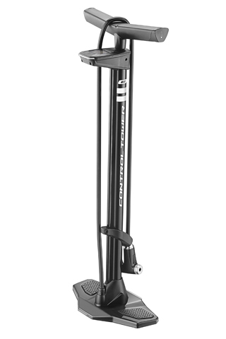 Giant Control Tower 0 Floor Pump Digital Top Gauge Color: Black