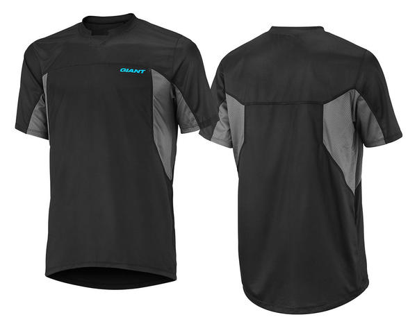 Giant Core Trail Short Sleeve Jersey Color: Black