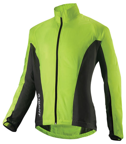 Giant Core Wind Jacket Color: Yellow/Gray
