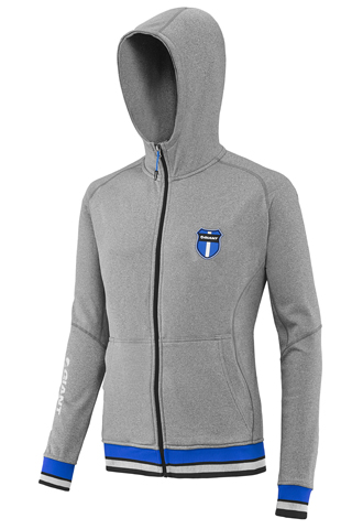 Giant Corporate Hoodie Color: Grey/Blue