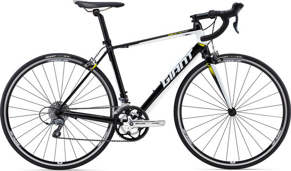 Giant Defy 5 Color: Black/White/Yellow