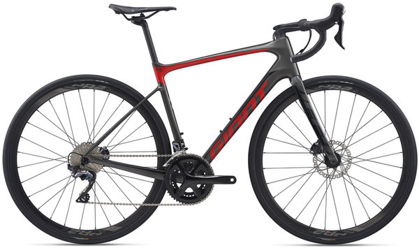 Giant Defy Advanced 1 Color: Charcoal/Pure Red