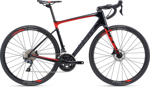 Giant Defy Advanced 1 Color: Carbon/Pure Red