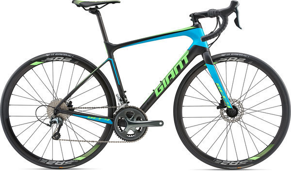 Giant Defy Advanced 3 Color: Composite Smoke/Blue/Neon Green