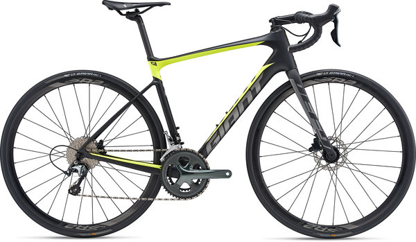 Giant Defy Advanced 3 (g5) Color: Carbon/Neon Yellow