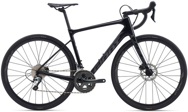 Giant Defy Advanced 3 Hydraulic Color: Carbon/Reflective Black