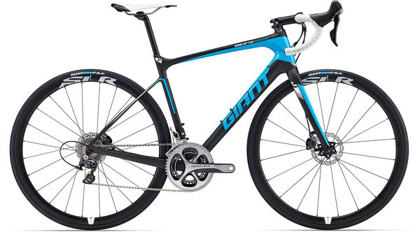 Giant Defy Advanced Pro 0 Color: Matte Composite/Blue/White