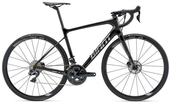 Giant Defy Advanced Pro 0 Color: Carbon Smoke/Chrome/Charcoal