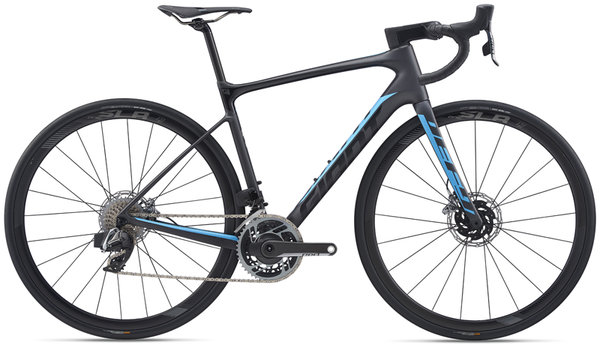 Giant Defy Advanced Pro 0 Red Color: Matte Gunmetal Black