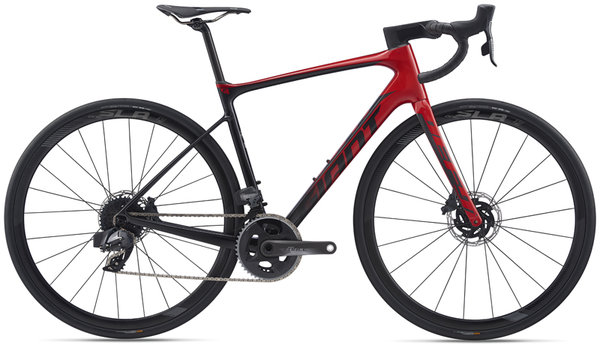 Giant Defy Advanced Pro 1 Force Color: Metallic Red
