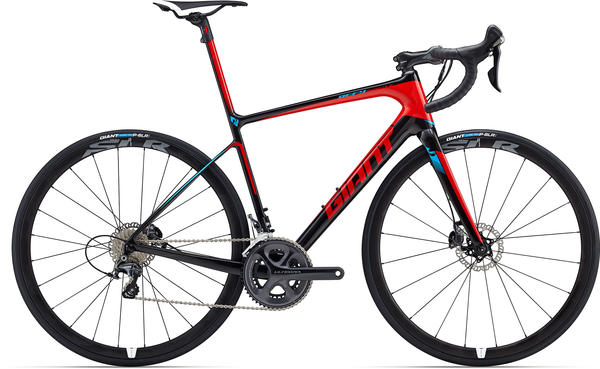 Giant Defy Advanced SL 1 Color: Composite/Red/Blue