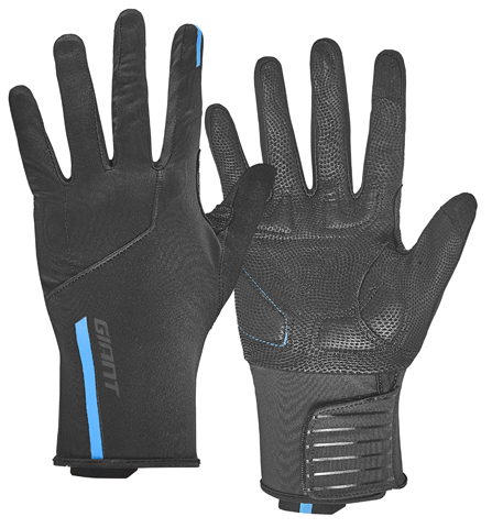 Giant Diversion Long Finger Glove Color: Black