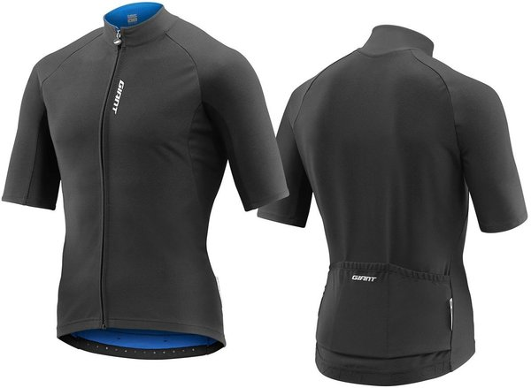 Giant Diversion Short Sleeve Jersey Color: Black/Blue