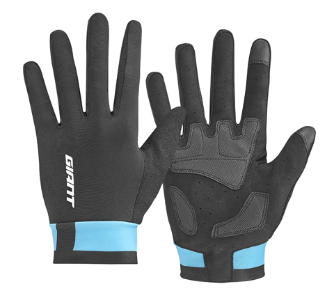 Giant Elevate Long Finger Gloves Color: Black/Blue