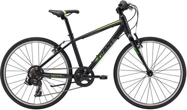 Giant Escape Jr 24 Color: Black/Neon Green