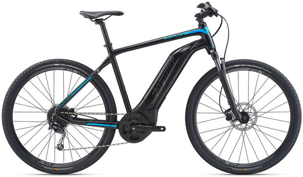Giant Explore E+ 4 GTS Color: Satin Black/Blue
