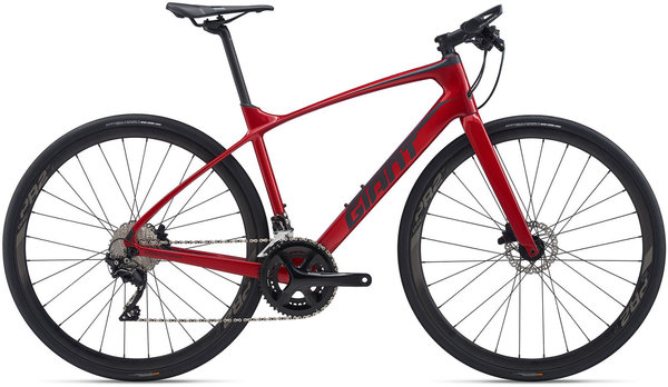 Giant FastRoad Advanced 1 Color: Metallic Red