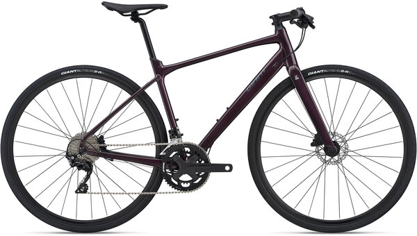 Giant FastRoad SL 1 Color: Wine Purple