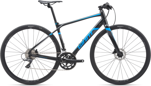 Giant FastRoad SL 3 Color: Gun Metal Black/Vibrant Blue