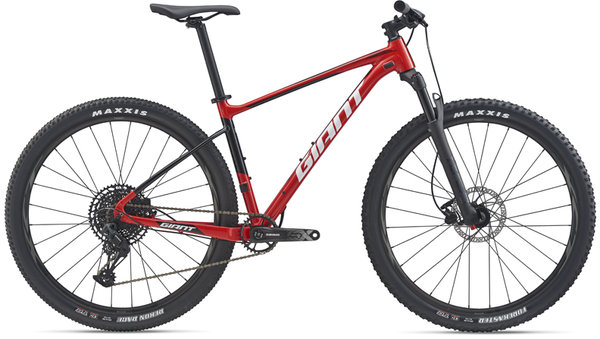 Giant Fathom 29 2 w/Crest Fork Color: Pure Red/Black
