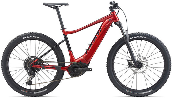 Giant Fathom E+ 1 Pro Color: Metallic Red/Black