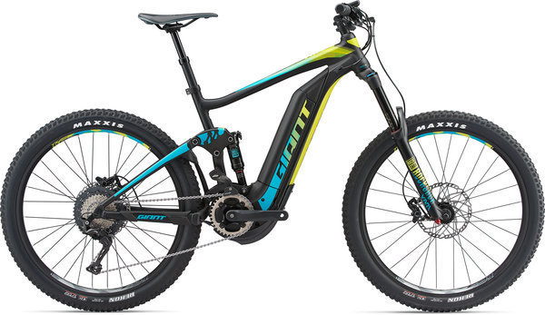 Giant Full-E+ 1 SX Pro Color: Black/Turquoise/Yellow