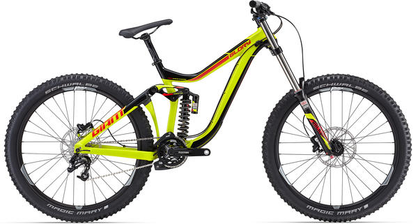 Giant Glory 27.5 2 Color: Yellow/Black/Red