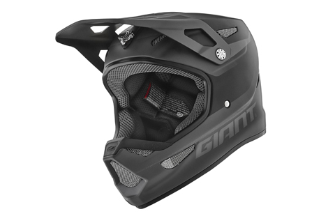 Giant GNT 100% Status Full Face Helmet Color: Matte Black