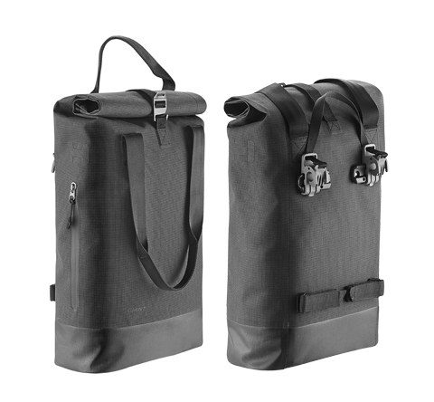 Giant H2pro Rear Pannier Color: Grey