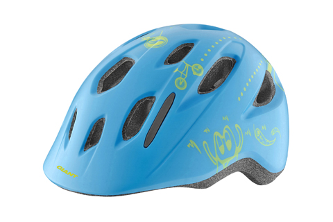 Giant Holler Infant Helmet Color: Cyan