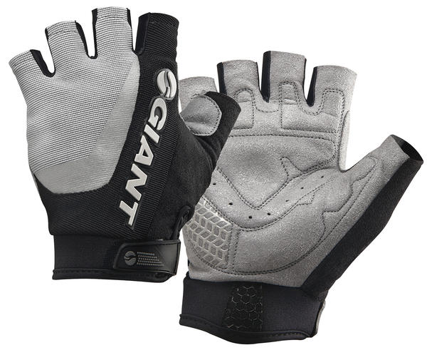 Giant Horizon Short Finger Gloves Color: Gray