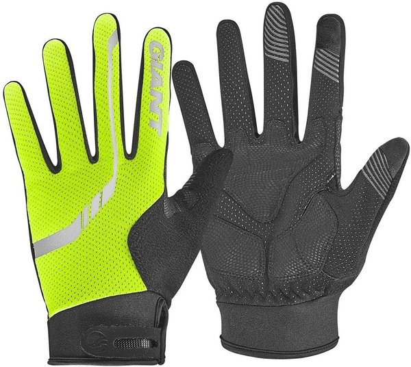 Giant Illume Chill Long Finger Gloves Color: High Vis Yellow