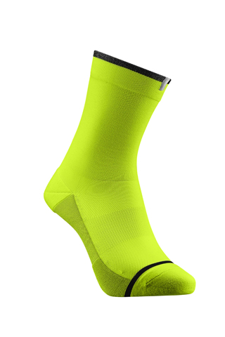 Giant Illume Sock Color: High Vis Yellow
