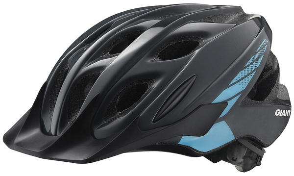 Giant Exempt Youth Helmet Color: Charcoal/Blue