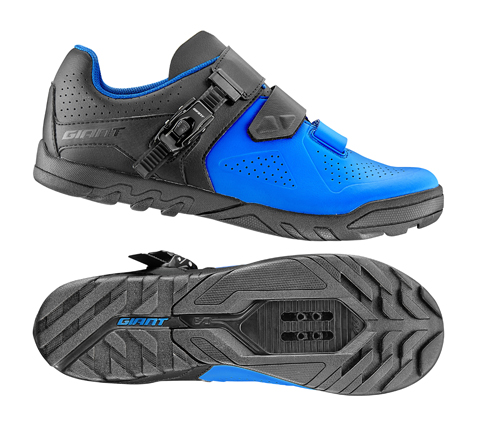 Giant Line MES Composite Sole Off-Road Shoe Color: Black/Blue