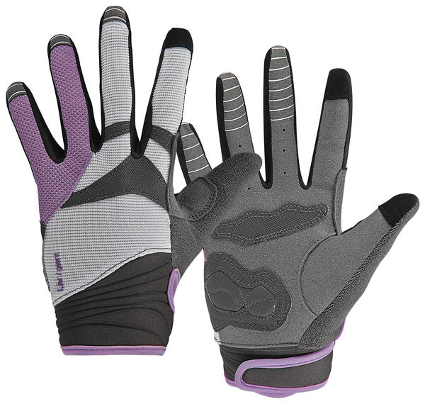 Giant Liv/giant Allure Long Finger Gloves - Women's Color: Purple