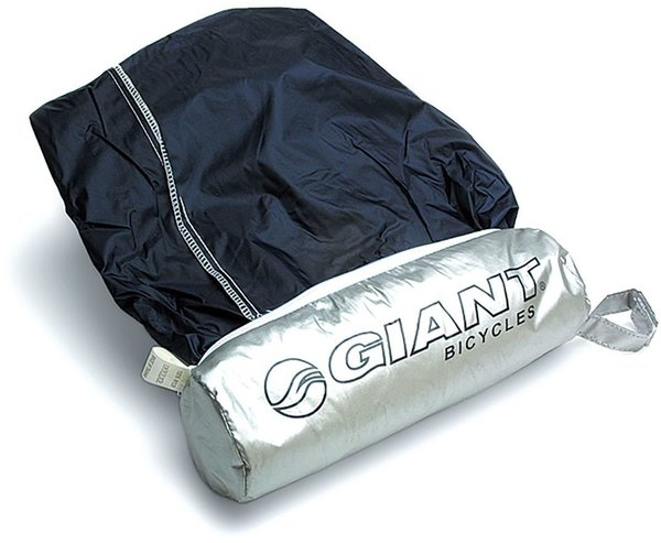 Giant Logo Bike Cover with Bag Color: Silver