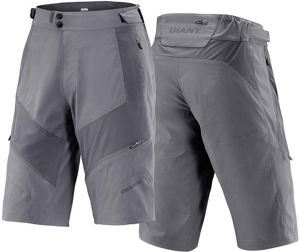 Giant Performance Trail Shorts Color: Gray