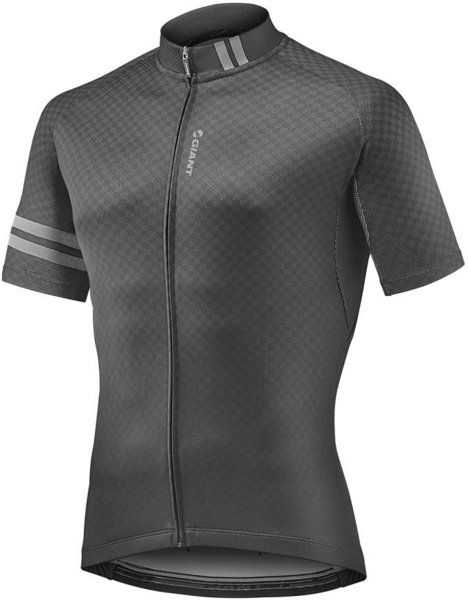 Giant Podium Short Sleeve Jersey Color: Black/Gray