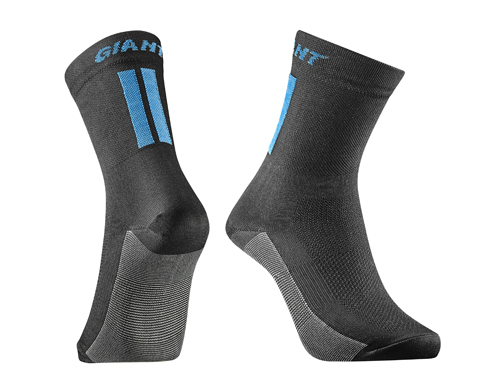 Giant Podium Sock Color: Black/Blue