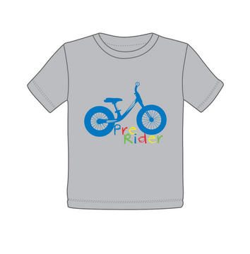 Giant Pre Rider T-shirt Color: Gray