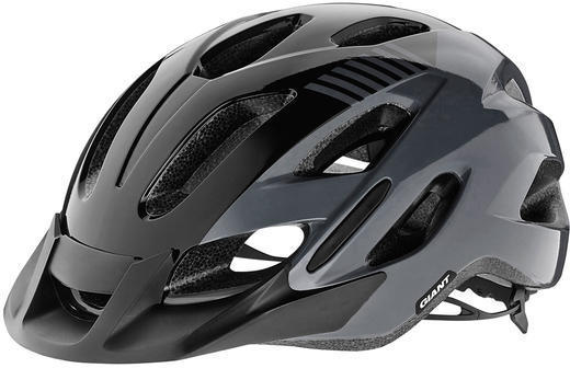 Giant Prompt Youth Helmet Color: Black/Grey