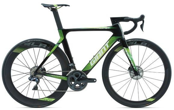 Giant Propel Advanced Pro Disc Color: Carbon Smoke/Green/White