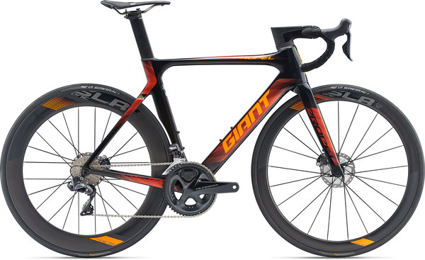 Giant Propel Advanced Pro Disc Color: Carbon/Neon Orange