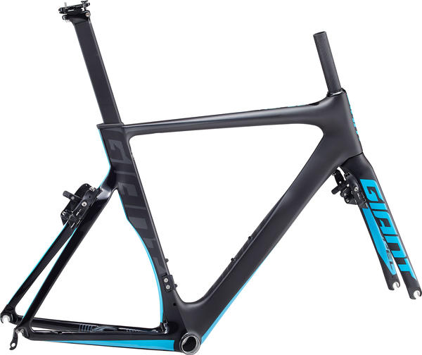 Giant Propel Advanced Pro Frameset Color: Matte Composite/Gloss Blue