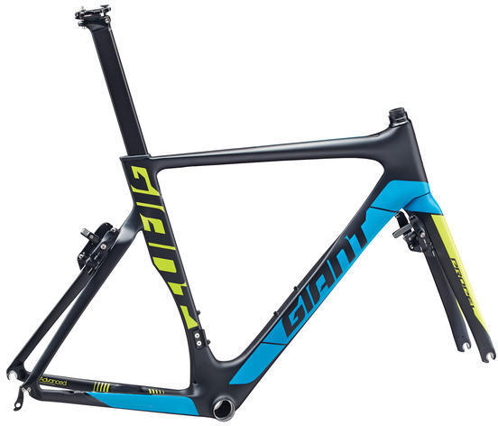 Giant Propel Advanced Pro Frameset Color: Composite/Blue